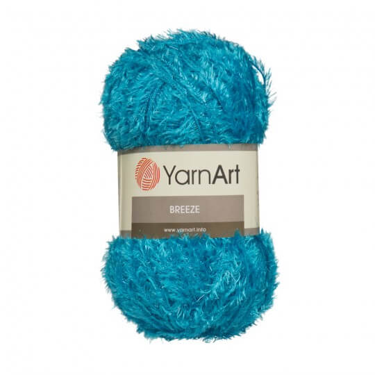 YarnArt Breeze 5'li Paket Mavi El Örgü İpi - 016