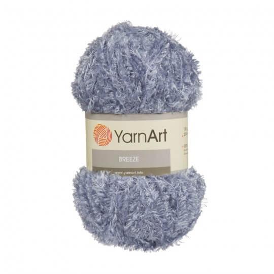 YarnArt Breeze 5'li Paket Mavi El Örgü İpi - 15