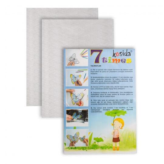 Kosida/Ponart A5 Boyutunda 7 Kat Küçülen Kağıt