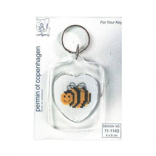 Permin 4x6 Arı Desenli Anahtarlık Etamin Kiti - 111143