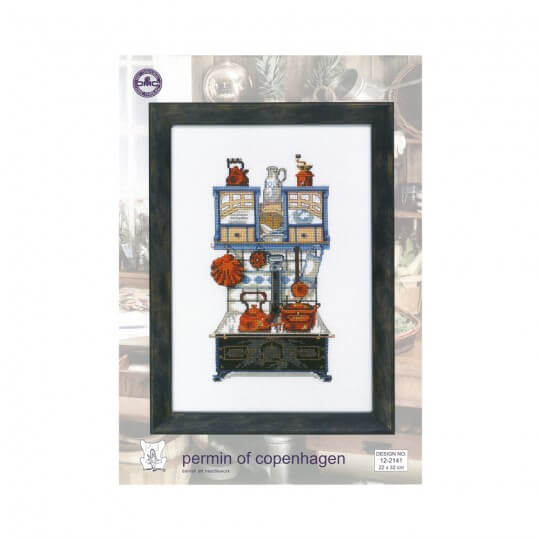 Permin 22x32 Siyah Mutfak Temalı Etamin Kiti - 122141