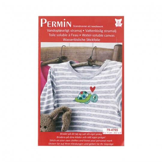 Permin 10x10 Kaplumbağa Desenli Mini Etamin Kiti - 794765