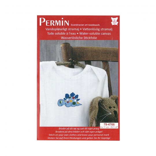 Permin 10x10 Dino Desenli Mini Etamin Kiti - 794766
