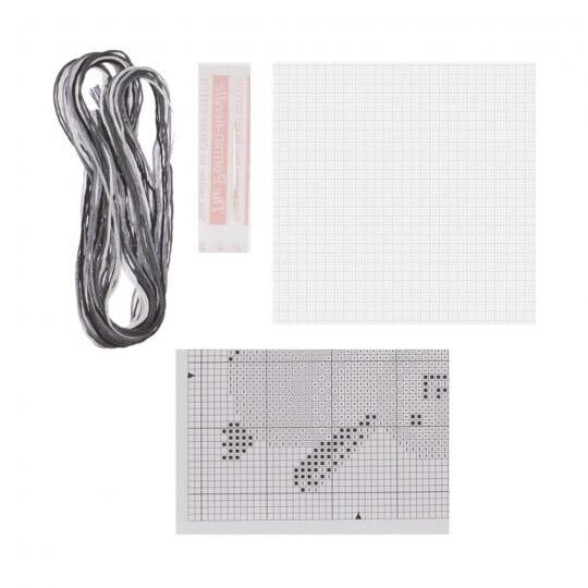 Permin 10x10 Penguen Desenli Mini Etamin Kiti - 794768