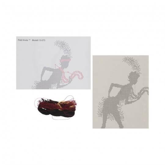 Duftin Josephine Minik Düğümler Etamin Kiti  - 13073-AA0361