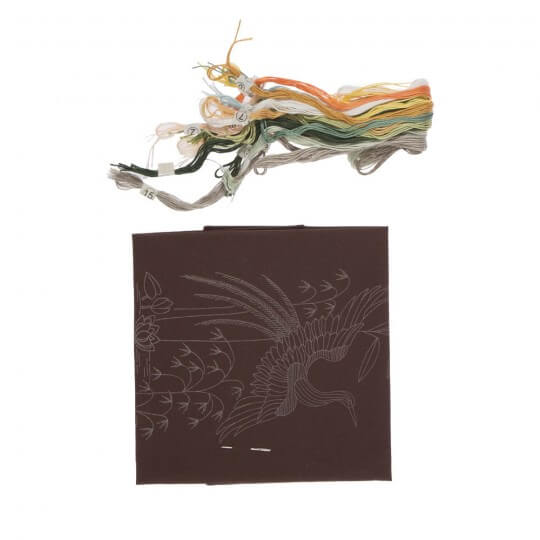 Duftin Kahverengi Kuğu Resim Etamin Kiti - 14336-AA0991