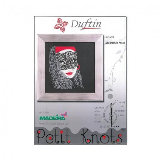 Duftin Maschero Nero Minik Düğümler Etamin Kiti  - 13045-AA0361