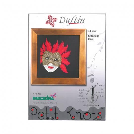 Duftin Rosso Minik Düğümler Etamin Kiti  - 13046-AA0361