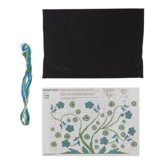 Duftin Mavi Tablet Bilgisayar Kılıfı Etamin Kiti - 19641-AA0364