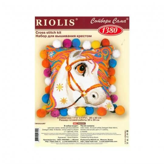 RIOLIS Goldrinn At Yastık Etamin Kiti - 1380