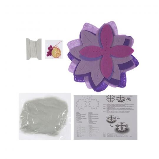 Kleiber Mor Çiçek Oyuncak Keçe Kiti - 931-32