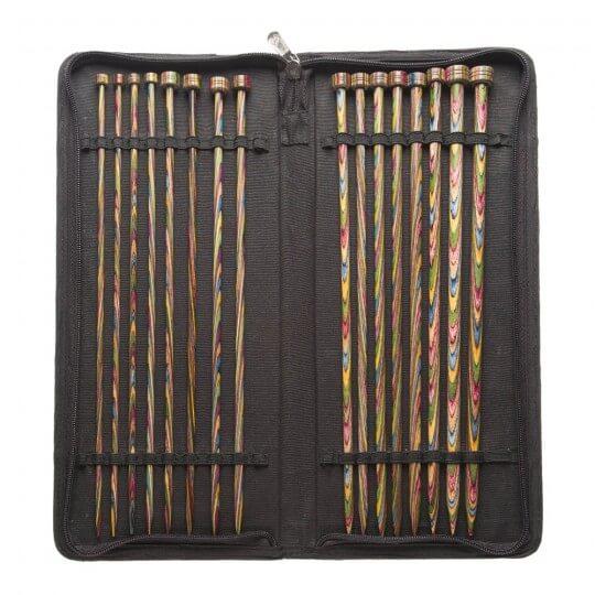 KnitPro Symfonie 30 cm Ahşap Örgü Şişi Seti - 20243