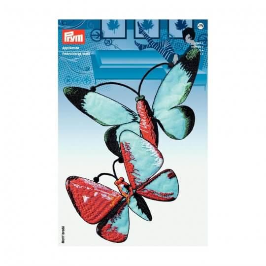 PRYM Özel Büyük Renkli Kelebek Desenli Aplike - 926615