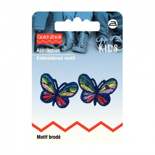 PRYM Küçük Mavi Kelebek Desenli Aplike - 925221