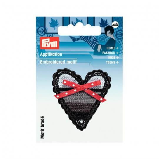 PRYM Şeritli Kalp Desenli Aplike - 924262