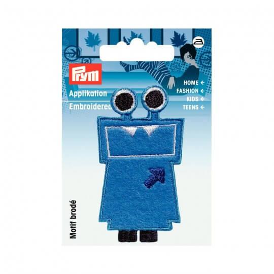 PRYM Mavi Eğlenceli Karakter Desenli Aplike - 924217