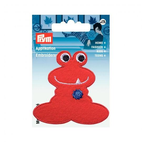 PRYM Kırmızı Eğlenceli Karakter Desenli Aplike - 924215