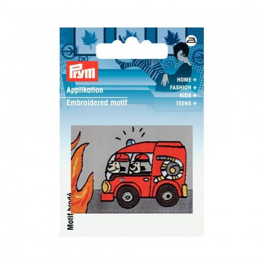 PRYM İtfaiye Arabası Desenli Aplike - 923111