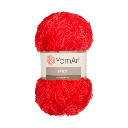 YarnArt Breeze 5'li Paket Kırmızı El Örgü İpi - 07