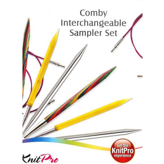 KnitPro Değiştirilebilir Comby Sampler Set I - 20621