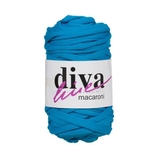 Diva Macaroni Petrol Mavisi Penye Kumaş El Örgü İpi