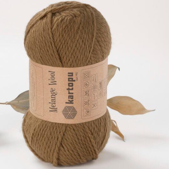 Kartopu Melange Wool Yeşil El Örgü İpi - K4001