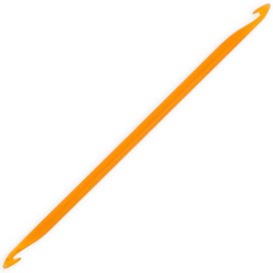KnitPro Trendz 10 mm 30 cm Turuncu Çift Uçlu Tunus Tığı - 51428