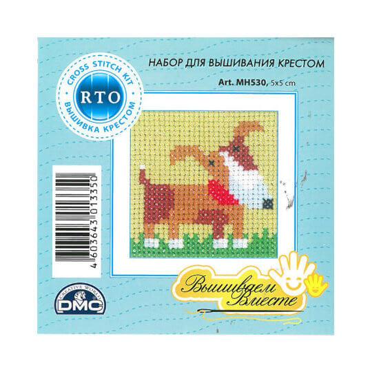 RTO Baltic 5 x 5 cm Başlangıç Seviye Köpek Desenli Etamin Kiti - MH 530
