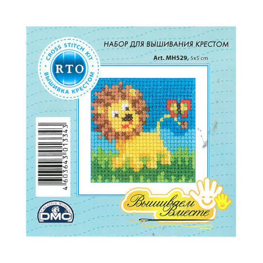 RTO Baltic 5 x 5 cm Başlangıç Seviye Aslan Desenli Etamin Kiti - MH 529