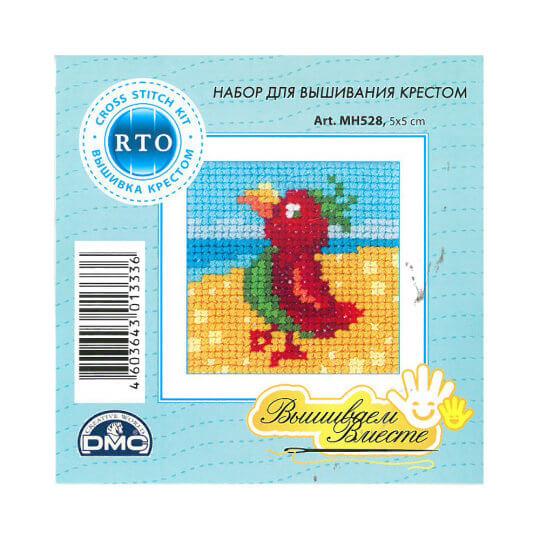 RTO Baltic 5 x 5 cm Başlangıç Seviye Kuş Desenli Etamin Kiti - MH 528