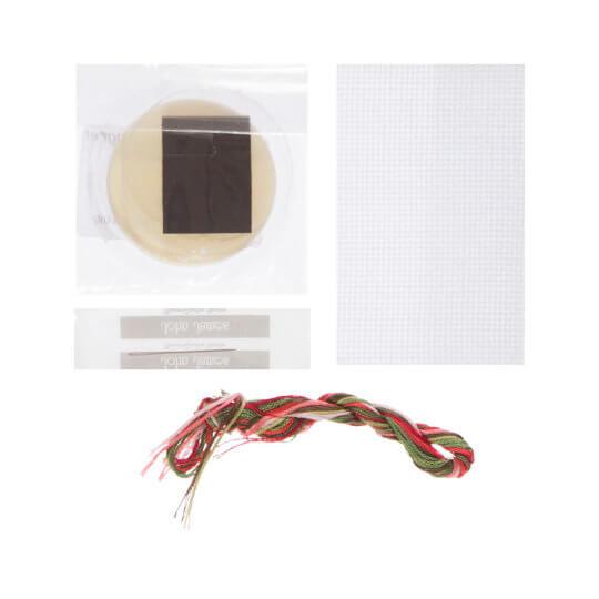 RTO Baltic 5,5 cm Çapında Frenk Üzümü Desenli Magnet Etamin Kiti - MGH05