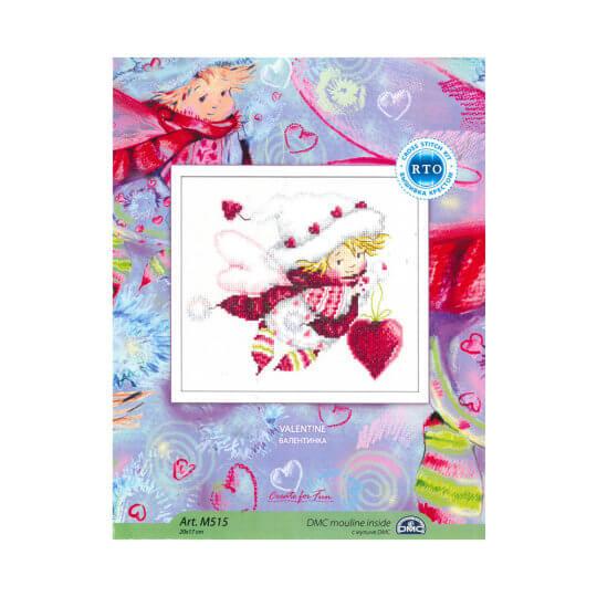 RTO Baltic 20 x 17 cm Sevgililer Günü Meleği Desenli Etamin Kiti - M515