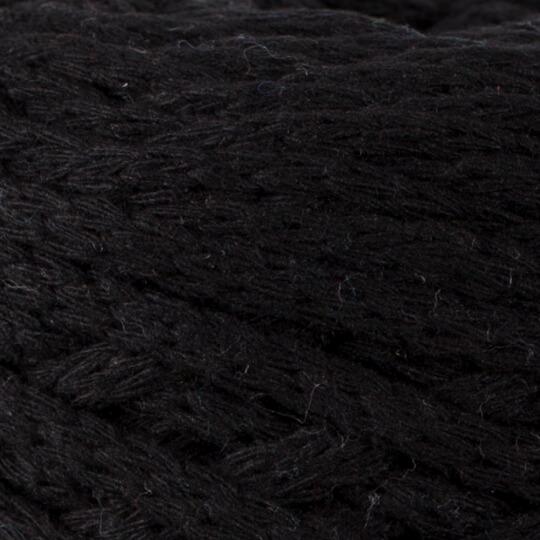 Spagettiyarn XXLace Siyah El Örgü İpi - 2