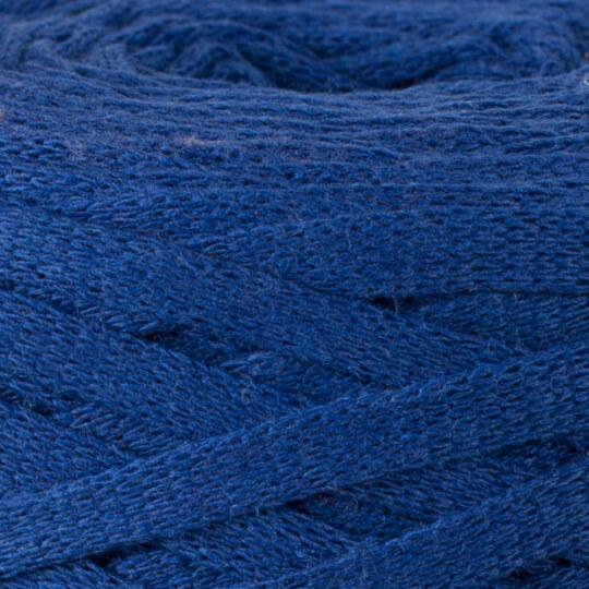 Spagettiyarn Ribbon Saks Mavi El Örgü İpi - 19