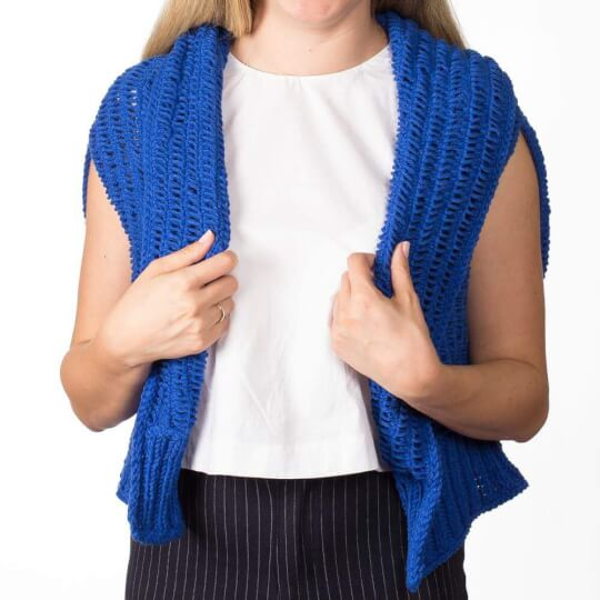 YarnArt Jeans Plus Saks Mavi El Örgü İpi - 47