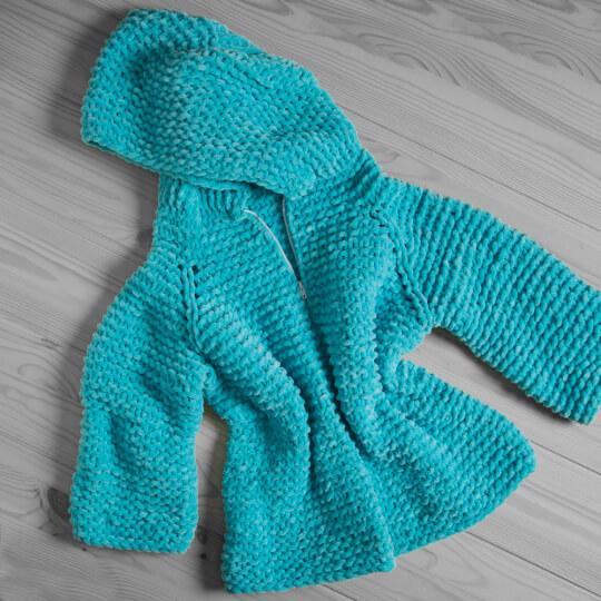 Kartopu Yumurcak Açık Mavi Kadife Bebek Yünü - YMD0006