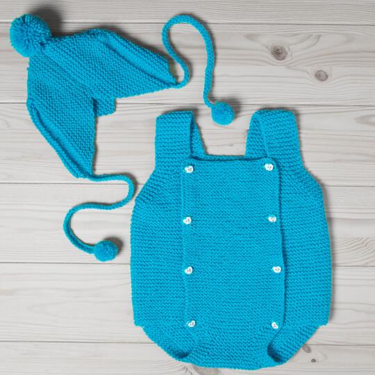 Örenbayan Lux Baby Pembe El Örgü İpi - 93-3010