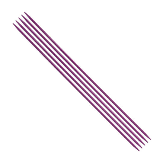 Kartopu 3 mm  20 cm Mor Metal Çorap Şişi