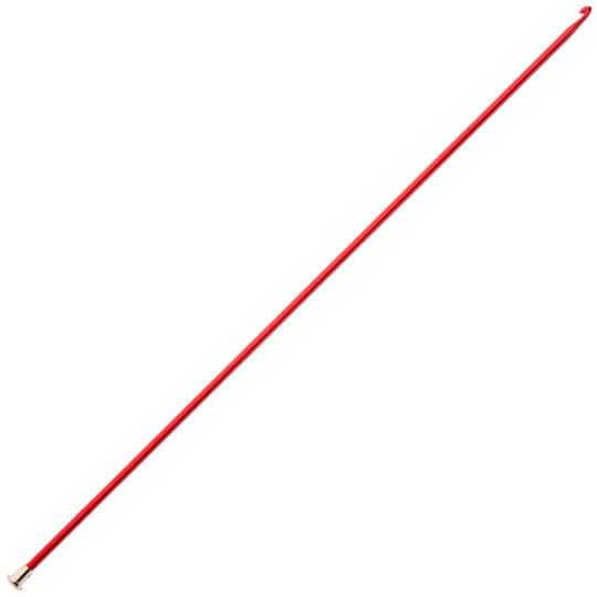 Kartopu 3,5 mm 35 cm Kırmızı Renkli Metal Gagalı Şiş Tunus Tığı - K003.1.0017XXX3.5