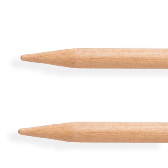 KnitPro Basix Birch Huş Ağacı 5mm 40cm Misinalı Şiş - 35310