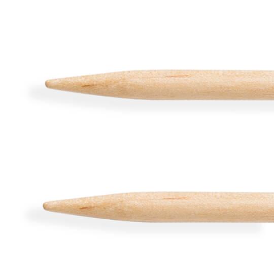 KnitPro Basix Birch Huş Ağacı 4.5mm 60cm Misinalı Şiş - 35319