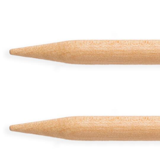 KnitPro Basix Birch Huş Ağacı 4mm 80cm Misinalı Şiş - 35384