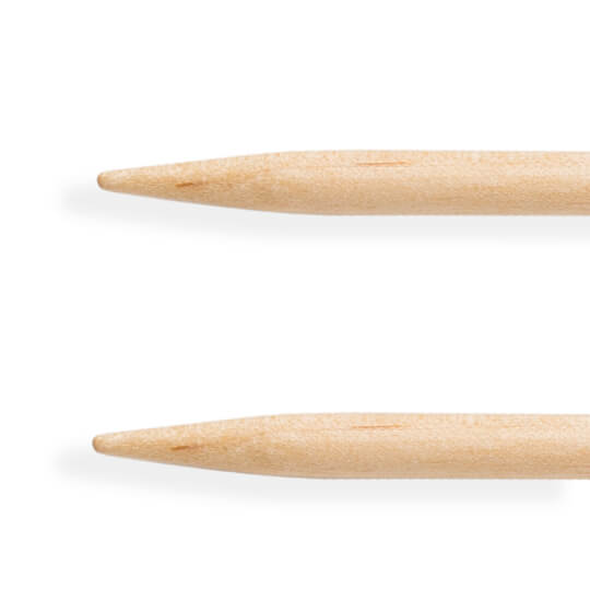 KnitPro Basix Birch Huş Ağacı 4mm 100cm Misinalı Şiş - 35394