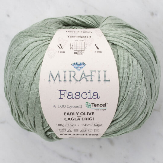 Mirafil Fascia Çağla Eriği El Örgü İpi - 06