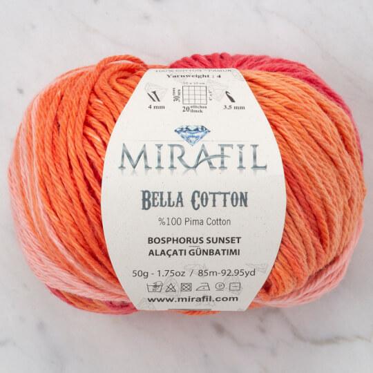 Mirafil Bella Cotton Alaçatı Günbatımı El Örgü İpi - 04