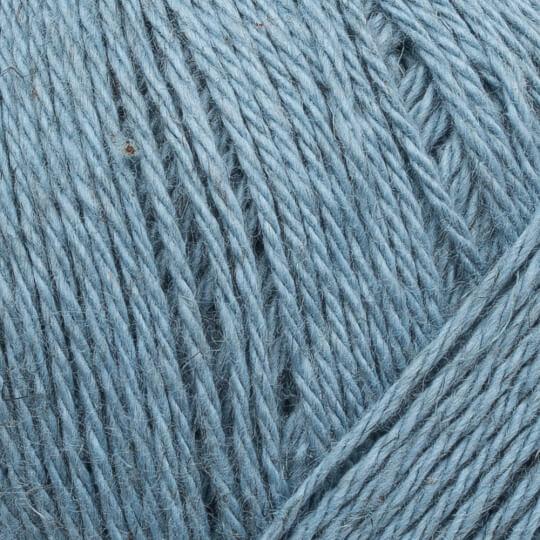 La Mia Linen Cotton Mavi El Örgü İpi - L187