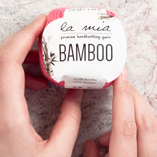 La Mia Bamboo Krem El Örgü İpi - L155