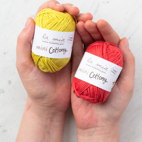 La Mia Mini Cottony 20'li Paket Renkli El Örgü İpi
