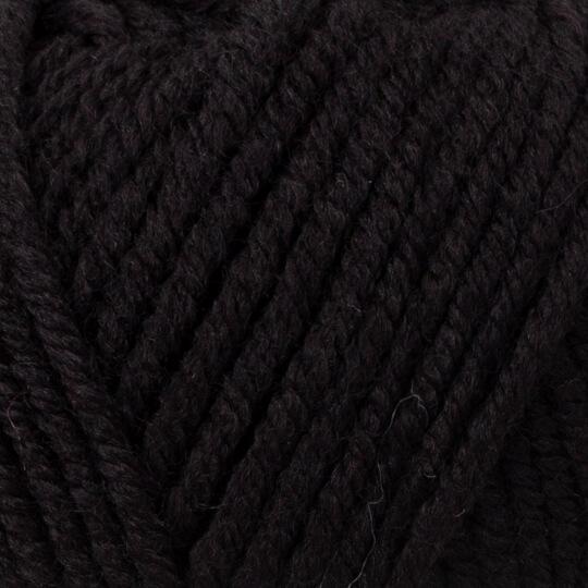 Kartopu Cozy Wool Siyah El Örgü İpi - K940