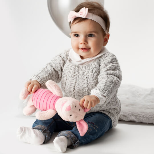 La Mia Baby Cotton Mor El Örgü İpi - L039